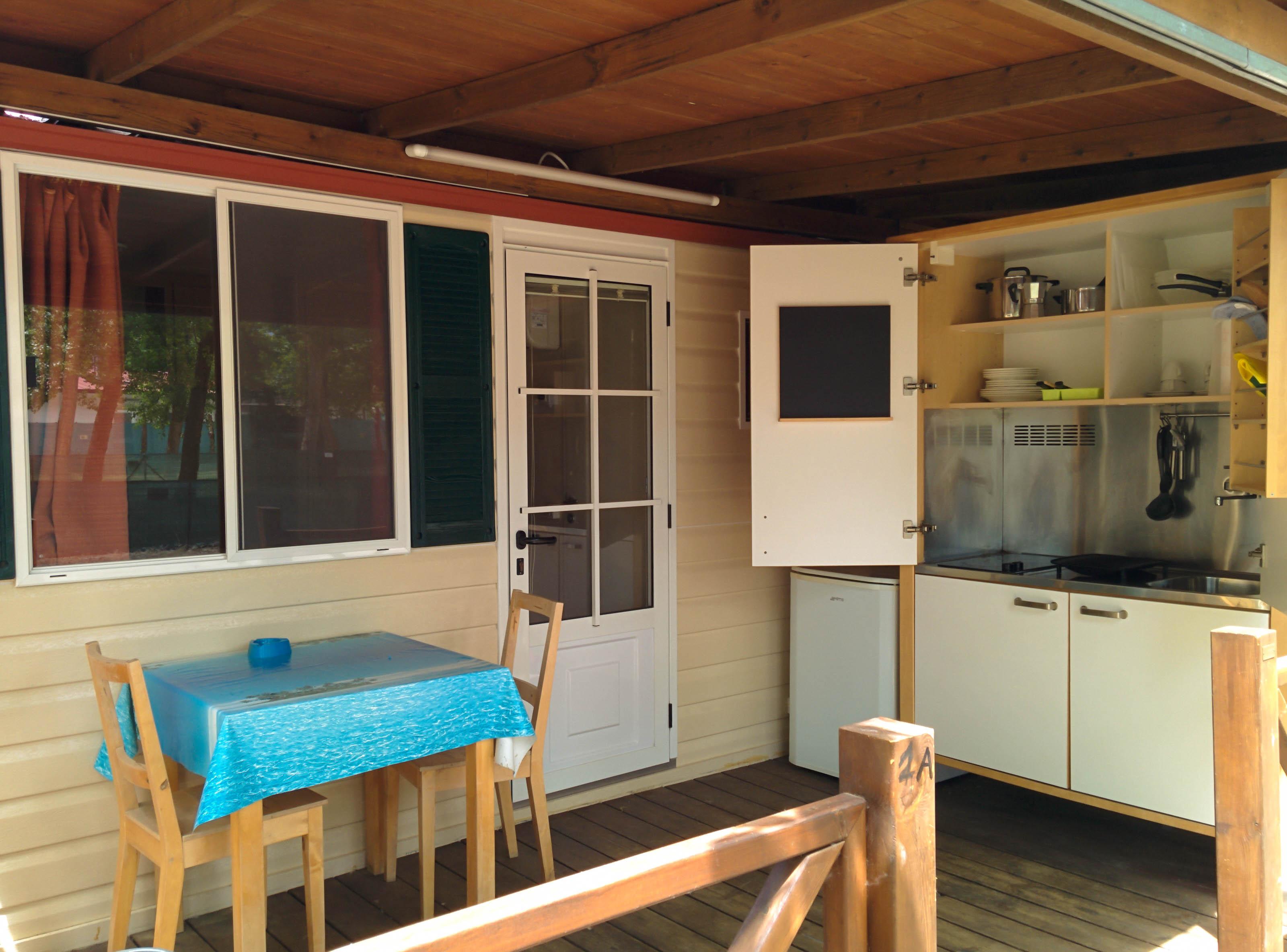 Case mobili camping verde mare - Camping bagno privato ...